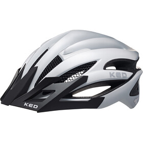 KED Wayron PRO Visor - Casque de vélo - blanc